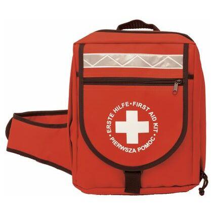 Leina Erste-Hilfe-Notfallrucksack, 36-teilig, rot