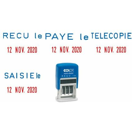 "COLOP Datumstempel Mini Dater S160 L1 ""RECU le"", FR"