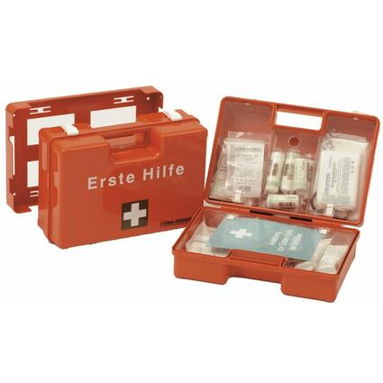 Leina Erste-Hilfe-Koffer SAN, Inhalt DIN 13169, orange