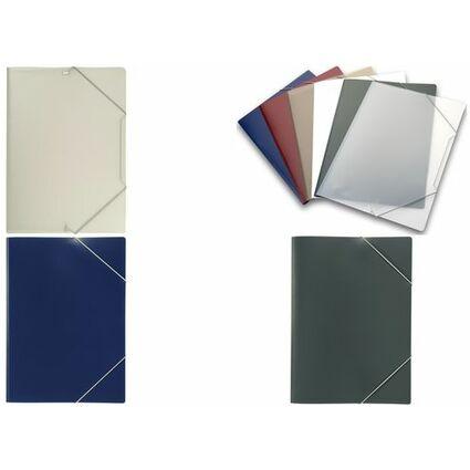 ELBA Eckspanner image, DIN A4, aus PP, farblos