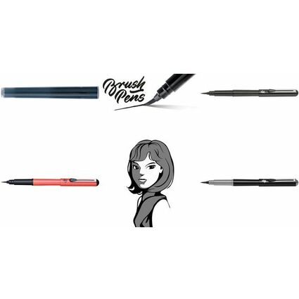 PentelArts Brush Pen Pinselstift, nachfüllbar mit FP10