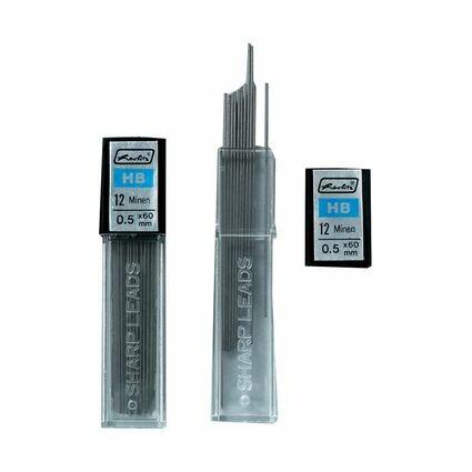 herlitz Druckbleistiftminen, Minenstärke: 0,7 mm