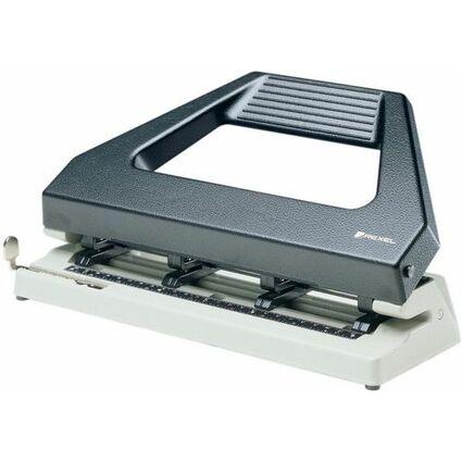 Rexel Mehrfachlocher 420 Variabel, schwarz/grau