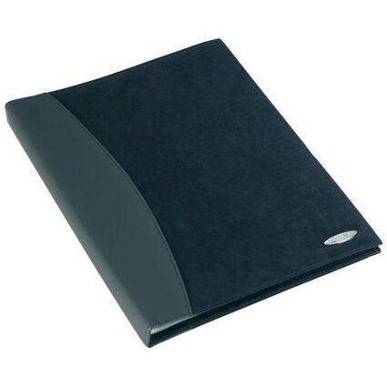 Rexel Sichtbuch SOFT TOUCH COMBO, A4, mit 24 Hüllen, schwarz