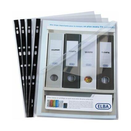 ELBA Prospekthülle Flexidoc, DIN A4, PP, 0,08 mm, glasklar