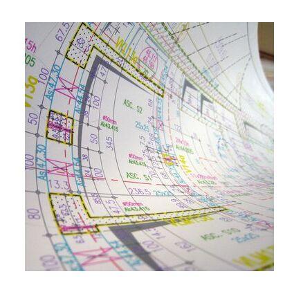 CANSON Inkjet-Papier Opak CAD Bogen, DIN A2, 90 g/qm, weiß