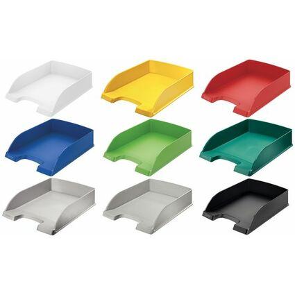 LEITZ Briefablage Plus Standard, A4, Polystyrol, hellgrün