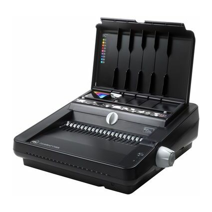 GBC Elektrisches Plastikbindegerät CombBind C450E, schwarz