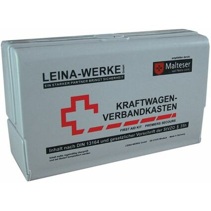 Leina KFZ-Verbandkasten Star Silver Edition Inhalt DIN 13164
