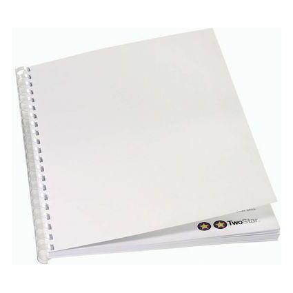 GBC Einbanddeckel ibiStol, DIN A4, Karton, 350 g/qm, chamois