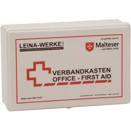 Leina Betriebsverbandkasten Office, Inhalt DIN 13157, weiß