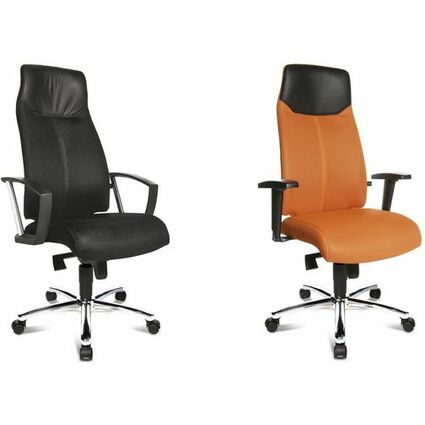 "Topstar Chefsessel ""High Sit up"", orange, inkl. feste"