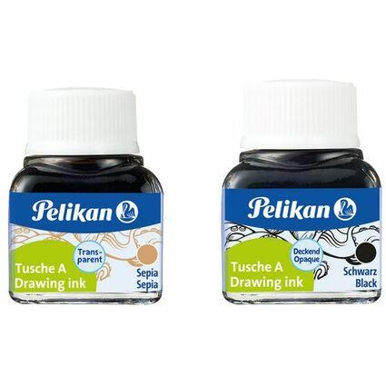 Pelikan Tusche A, Inhalt: 10 ml im Glas, Sepia (15)