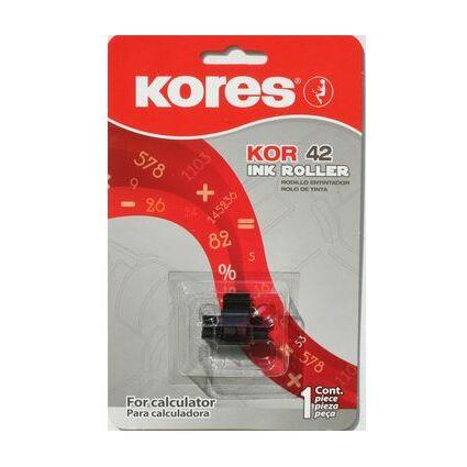 Kores Farbrolle für Epson IR 40 T, schwarz/rot