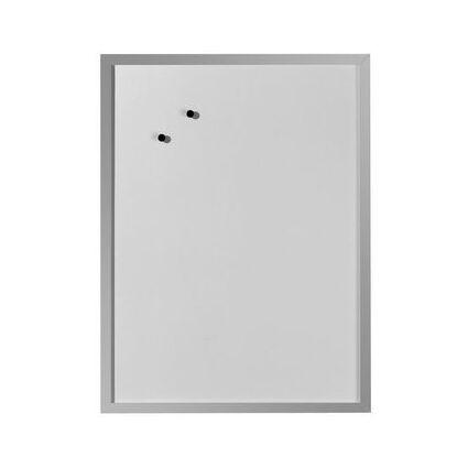 herlitz Magnettafel, (B)400 x (H)600 mm, aus Metall, weiß