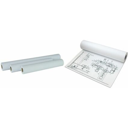 PAPYRUS Inkjet-Plotterrolle, 914 mm x 90 m, weiß