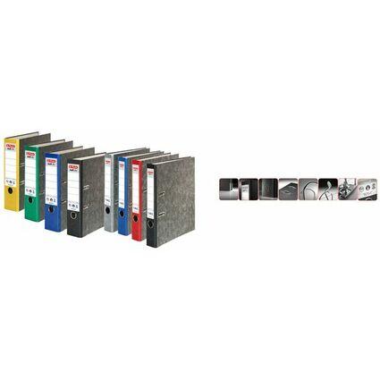 herlitz Ordner maX.file nature, Rückenbr.: 80 mm, grauer