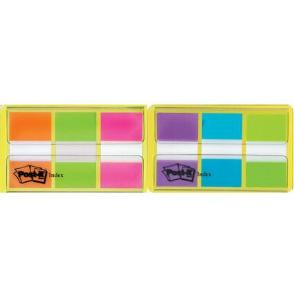 Post-it Haftmarker Index, 25,4 x 43,2 mm, 3-farbig