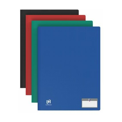 "ELBA Sichtbuch ""Memphis"", mit 10 Hüllen, farbig sortiert"