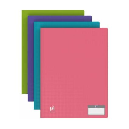 "ELBA Sichtbuch ""Memphis"", mit 40 Hüllen, farbig sortiert"