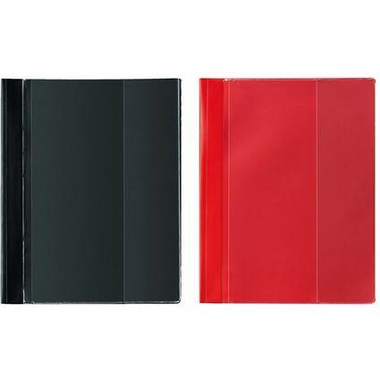 herlitz Schnellhefter Combi, DIN A4 Überbreite, PVC, weiß