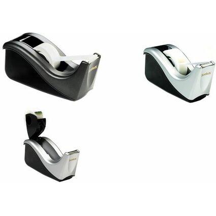 3M Scotch Tischabroller C60, ausklappbar, schwarz/silber