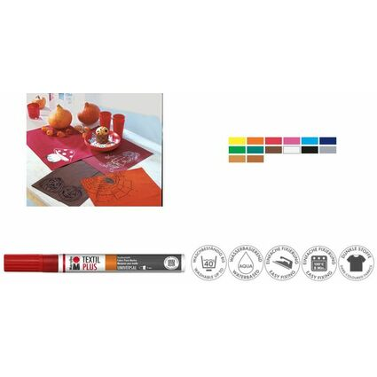 "Marabu Textilmarker ""Textil Painter Plus"", orange"