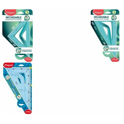 Maped Zeichendreieck Flex 60 Grad, Kathetenlänge: 260 mm