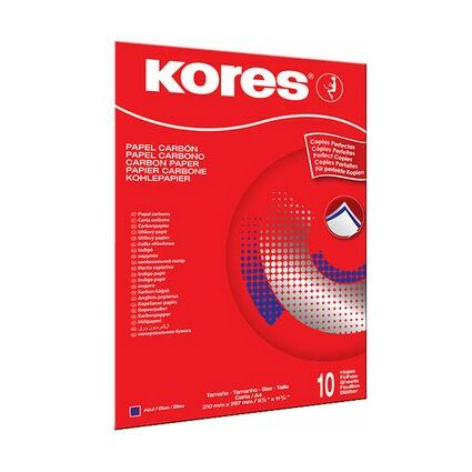 Kores Durchschreibepapier, DIN A4, blau, 100 Blatt