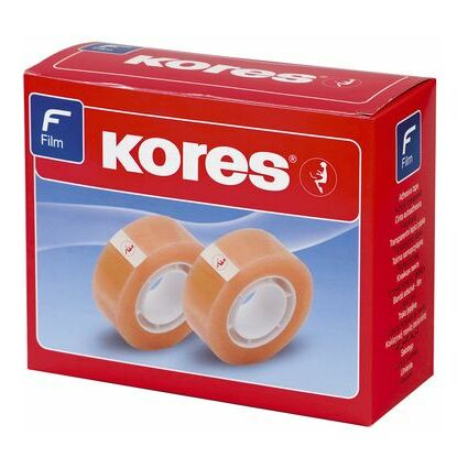 Kores Klebefilm Standard, 15 mm x 33 m, transparent