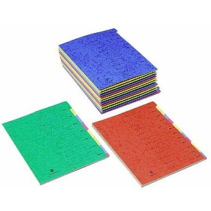 extendos Ordnungsmappe Standard, 24 Fächer, mit Zahlenskala