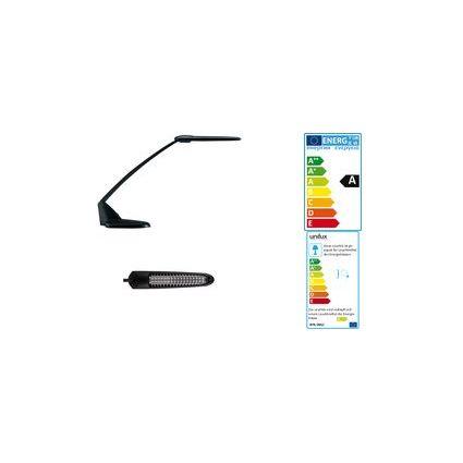 unilux Energiespar-Tischleuchte BRIO, Farbe: schwarz