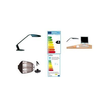 unilux Energiespar-Tischleuchte DUO, Farbe: grau
