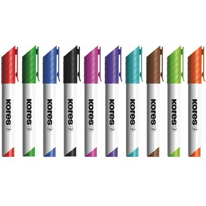 "Kores Whiteboard- & Flipchart-Marker ""K MARKER"", grün"