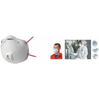 3M Atemschutzmaske 8833 - Klassik, Schutzstufe: FFP3