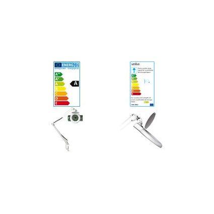 """unilux Energiespar-Lupenleuchte """"ZOOM"""", weiß, 22 Watt"""