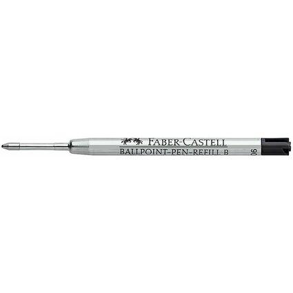 FABER-CASTELL Kugelschreiber-Großraummine F, schwarz