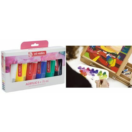 ROYAL TALENS Acrylfarbe ArtCreation, 75 ml, 6er-Set
