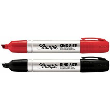 Sharpie Permanent-Marker METAL MEDIUM, Keilspitze, schwarz