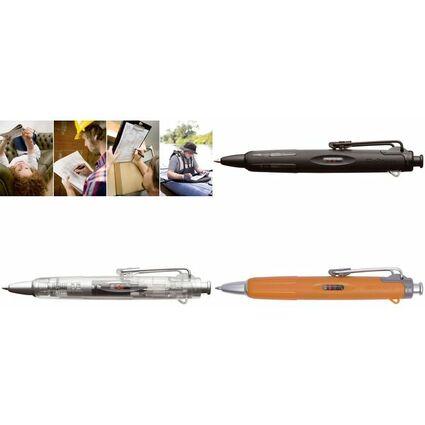 "TOMBOW Druckkugelschreiber ""AirPress Pen"", schwarz/silber"