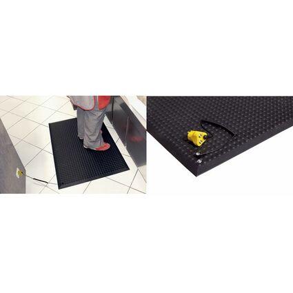 miltex Arbeitsplatzmatte Yoga Ergonomie ESD, 650 x 950 mm