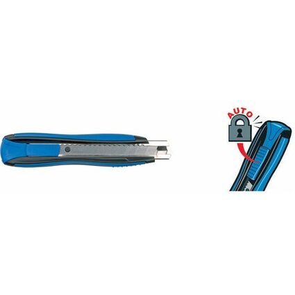 Maped Cutter Zenoa Sensitiv, Klinge: 18 mm, blau