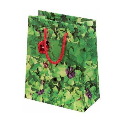 "SUSY CARD Geschenktüte ""Glücksklee"", groß"