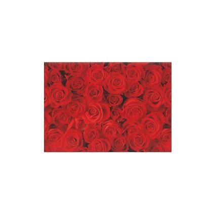 """SUSY CARD Geschenkpapier """"rote Rosen"""", auf Rolle"""