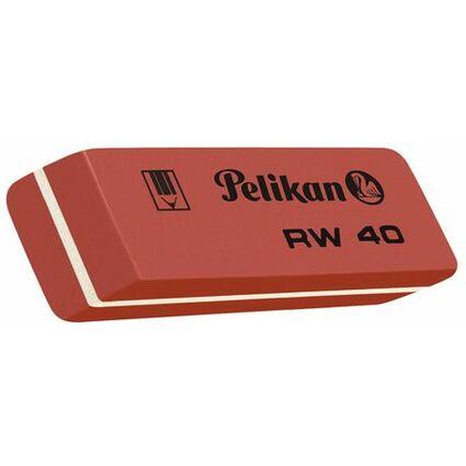 Pelikan Kautschuk-Radierer RW 40, (B)58 x (T)20 x (H)8 mm