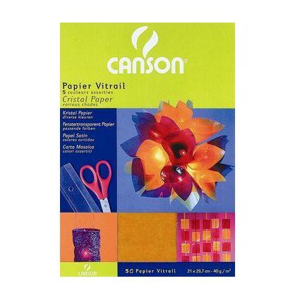 CANSON Transparentpapier-Bögen A4, 210 x 297 mm, 40 g/qm
