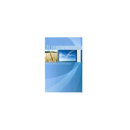 HORN Konfirmationskarte - Kelch, Trauben - inkl. Umschlag