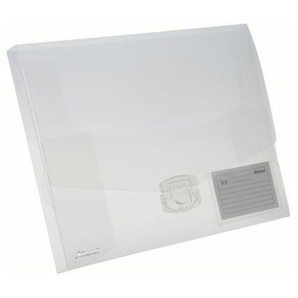 Rexel Sammelbox ICE, DIN A4, Füllhöhe: 25 mm, PP, glasklar