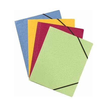 ELBA Eckspannermappe Carte Forte, DIN A4, grün