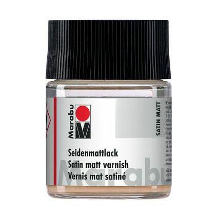 Marabu Seidenmattlack, seidenmatt, 50 ml, im Glas